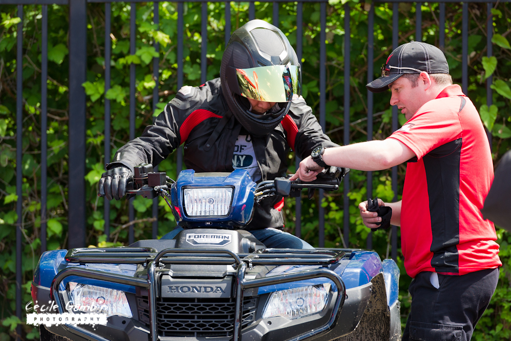Want to try an ATV, or a scooter? Honda demo programs are also on hand at all MGK events.