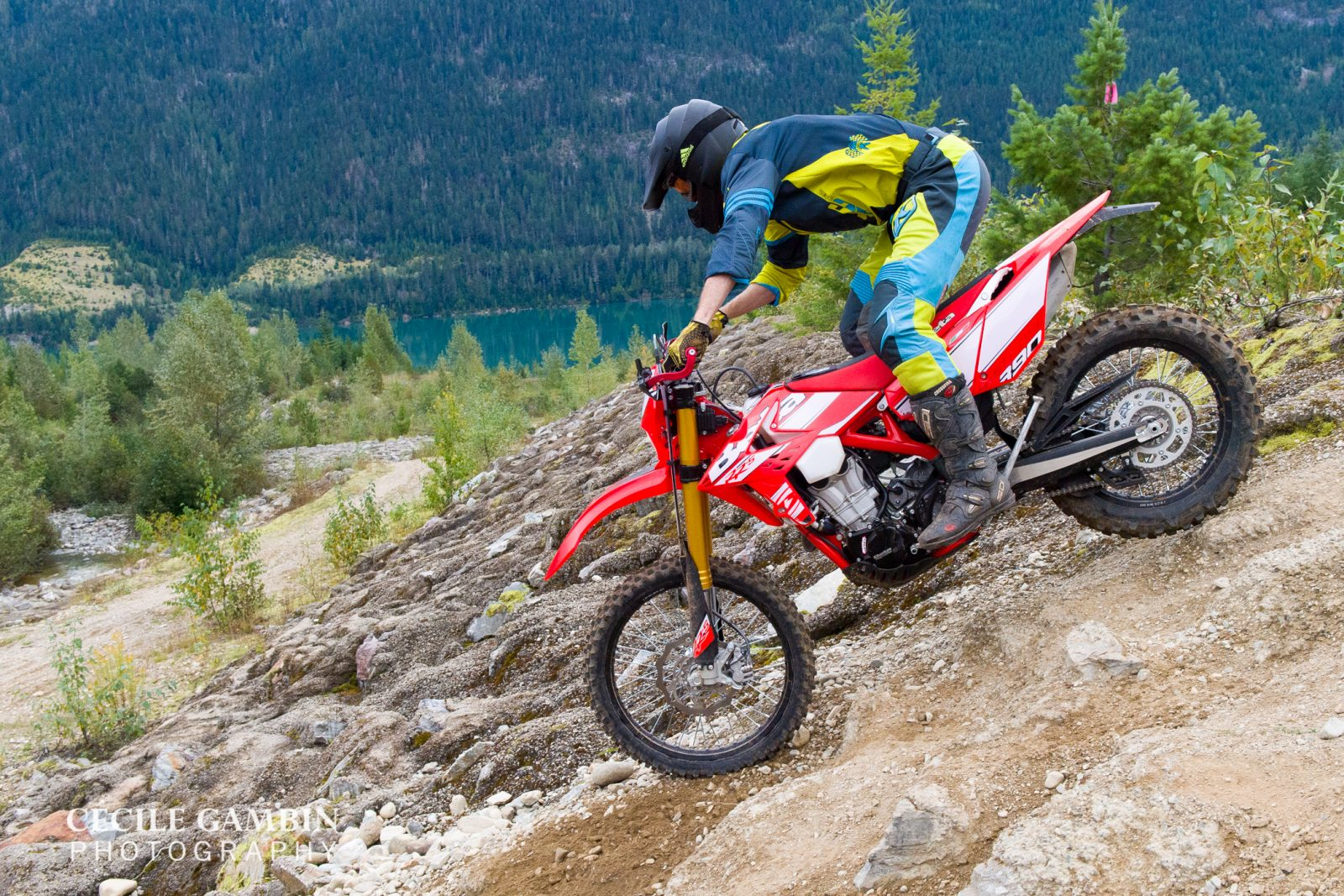 The Revy Riders Dirt Bike Club created trails abundant in views, rock, trees, and roots. Awesome-sauce.