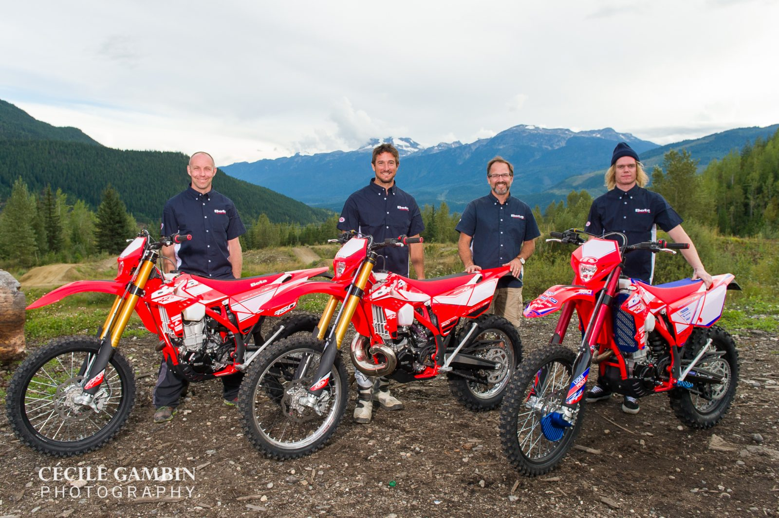 The Canadian Beta Factory Team - Foord, Marin, Howland, King